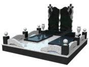 Ограда на могилу - ПРУ «Память»