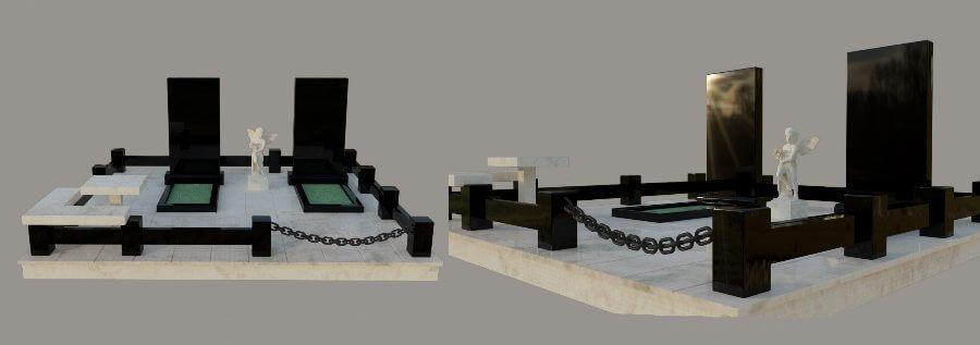 Модель памятника в 3D