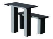 стол и скамейка на могилу